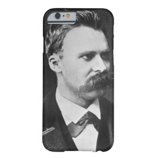 Friedrich Wilhelm Nietzsche (1844-1900) 1873 (b/w Funda Para iPhone 6 Barely There