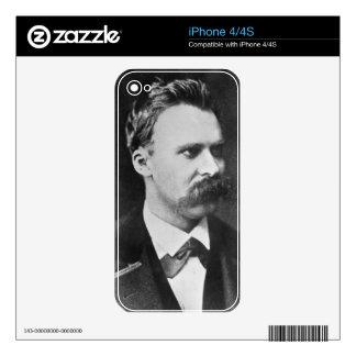 Friedrich Wilhelm Nietzsche (1844-1900) 1873 (b/w iPhone 4S Decal