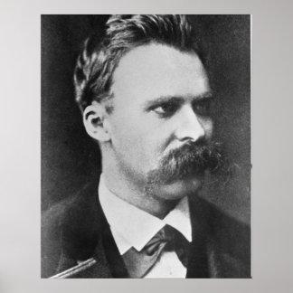 Friedrich Wilhelm Nietzsche 1844-1900 1873 b w Poster