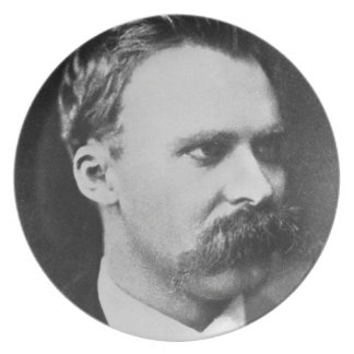 Friedrich Wilhelm Nietzsche (1844-1900) 1873 (b/w Plate