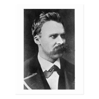 Friedrich Wilhelm Nietzsche (1844-1900) 1873 (b/w Postcard