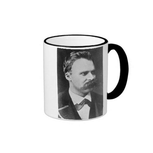 Friedrich Wilhelm Nietzsche (1844-1900) 1873 (b/w Ringer Mug