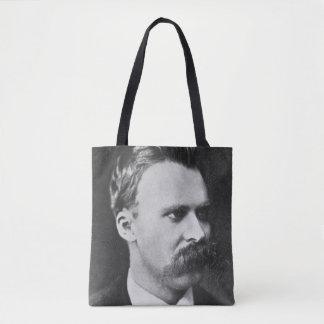 Friedrich Wilhelm Nietzsche (1844-1900) 1873 (b/w Tote Bag