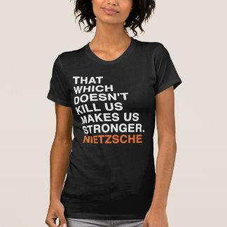 friedrich wilhelm nietzsche quote tee shirts