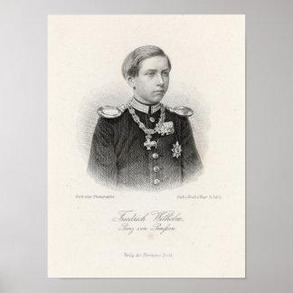 Friedrich Wilhelm Prinz von Preussen Poster