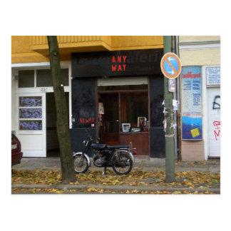 Friedrichshain Berlin Szene Post Card