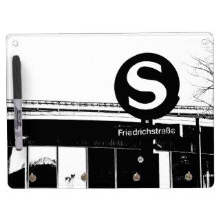 Friedrichstrasse_01.01.2_G_illu, rapid-transit Dry Erase Board With Keychain Holder