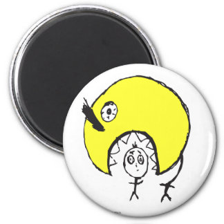 Frieds 2 Inch Round Magnet
