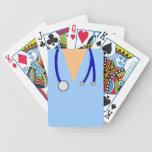 Friega la cubierta de encargo médica del doctor de cartas de juego