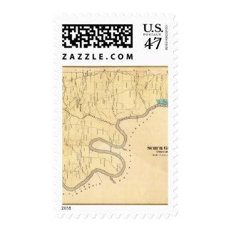 Friegue el municipio de la hierba sello postal