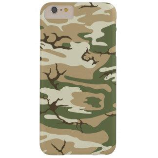 Friegue la caja del teléfono de Camo Funda Barely There iPhone 6 Plus