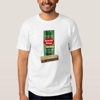 Friegue la camiseta de Tina Poleras