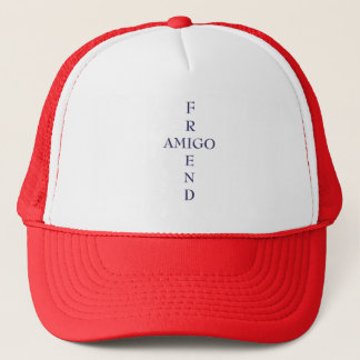 FRIEND and AMIGO - a goodwill hat