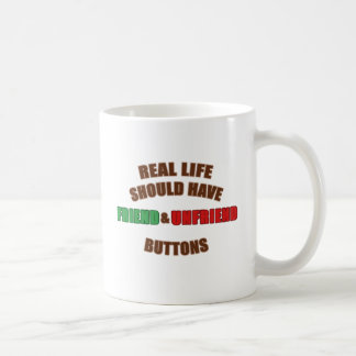 Friend and Unfriend Coffee Mug