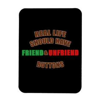 Friend and Unfriend Magnet