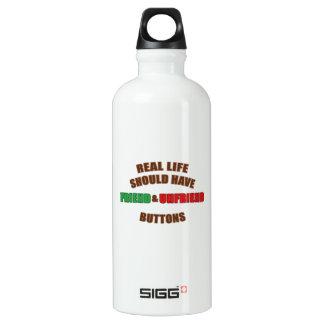 Friend and Unfriend Water Bottle