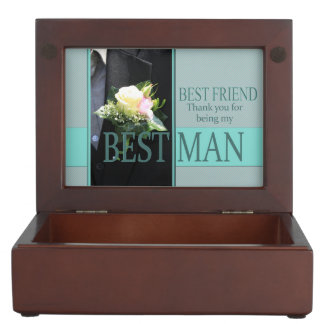 friend   best man thank you keepsake box