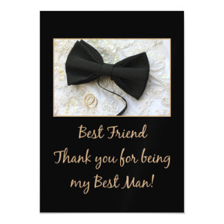 friend   best man thank you magnetic invitations