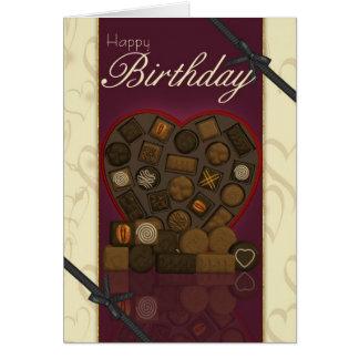 Friend Birthday Card - Chocolates