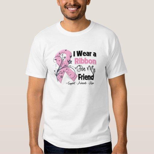 Friend - Breast Cancer Pink Ribbon Shirt