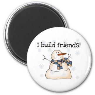 Friend Builder Refrigerator Magnets