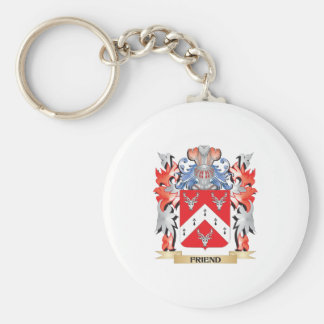 Friend Coat of Arms - Family Crest Keychain