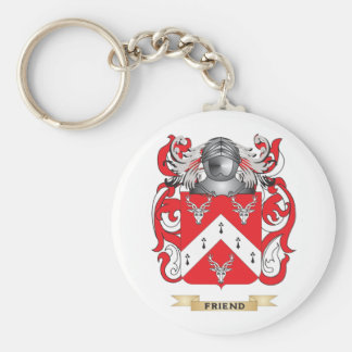 Friend Coat of Arms Keychain