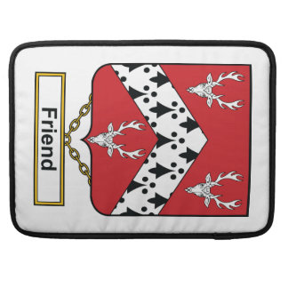 Friend Family Crest Sleeve For MacBook Pro