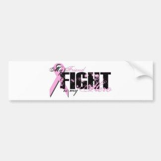Friend Hero - Fight Breast Cancer Bumper Sticker