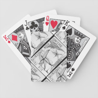 Friend in Black&White Playing Cards