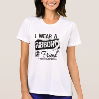 Friend Lung Cancer Ribbon T-Shirt
