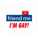 Friend Me, I'm Gay! Postcards