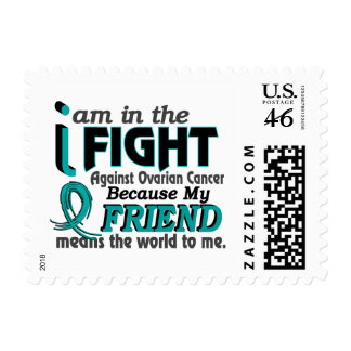 Friend Means World To Me Ovarian Cancer Stamps