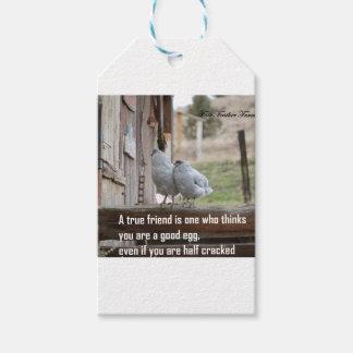 friend meme gift tags