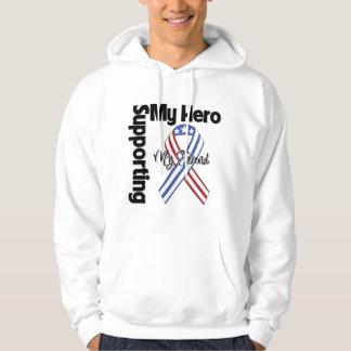 Friend - Military Supporting My Hero Hoodie