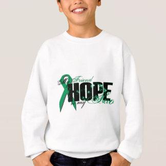 Friend My Hero - Kidney Cancer Hope Sweatshirt