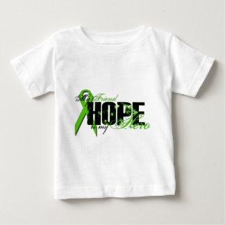 Friend My Hero - Lymphoma Hope Baby T-Shirt