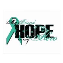 Friend My Hero - Ovarian Hope Postcard
