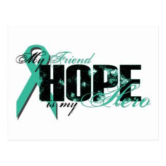 Friend My Hero - Ovarian Hope Postcard