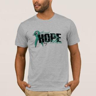 Friend My Hero - Ovarian Hope T-Shirt
