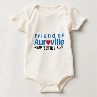FRIEND OF AUROVILLE STATUS BABY BODYSUIT