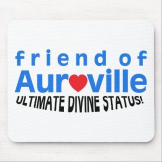 FRIEND OF AUROVILLE STATUS MOUSE PAD