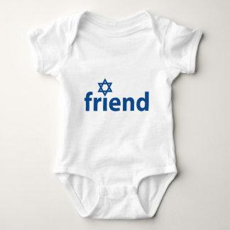 Friend of Israel Baby Bodysuit