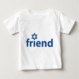 Friend of Israel Baby T-Shirt