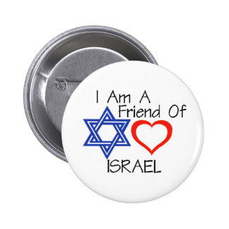 Friend of Israel Button