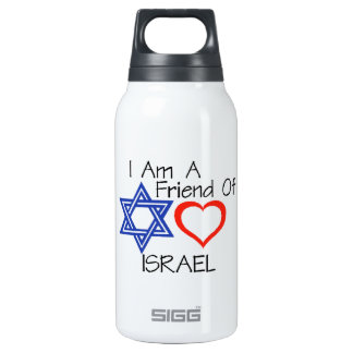 Friend of Israel Insulated Water Bottle