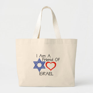 Friend of Israel Jumbo Tote Bag