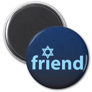 Friend of Israel Refrigerator Magnet