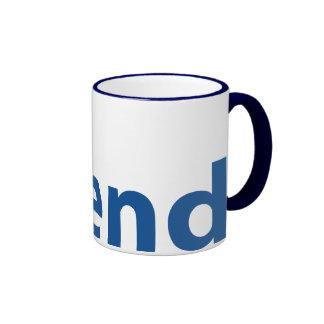 Friend of Israel Ringer Coffee Mug