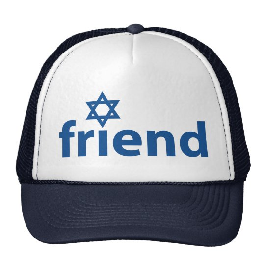 Friend of Israel Trucker Hat